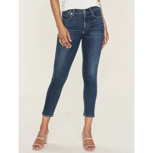 Citizens of humanity hi rise rocket crop jeans 24